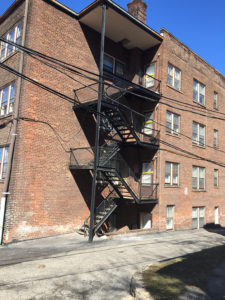 Steel Fire Escapes